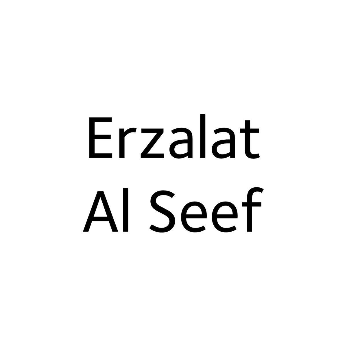 Erzalat Al Seef